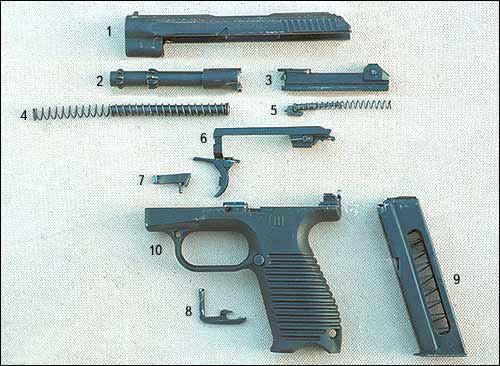 ГШ-18 построен по схеме с
