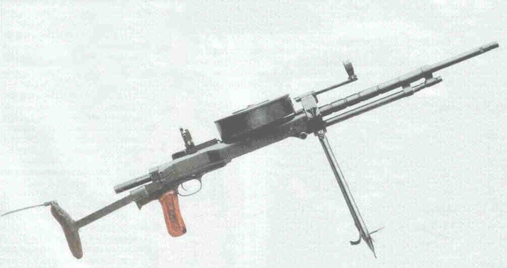 На базе ручного пулемёта ДП